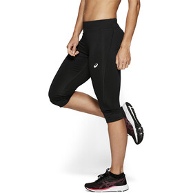 asics Silver Knee Tights Dam performance black